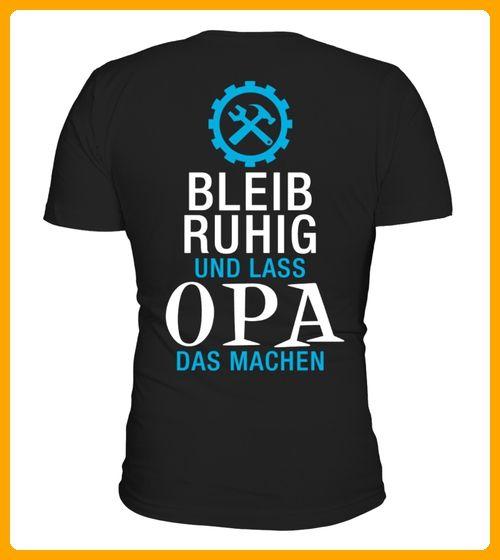 Bleib ruhig und lass OPA das machen - Shirts für großeltern (*Partner-Link)