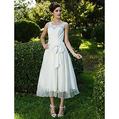 BETIANA - kjole til Bryllupskjole i Organza og Lace – NOK kr. 1.176
