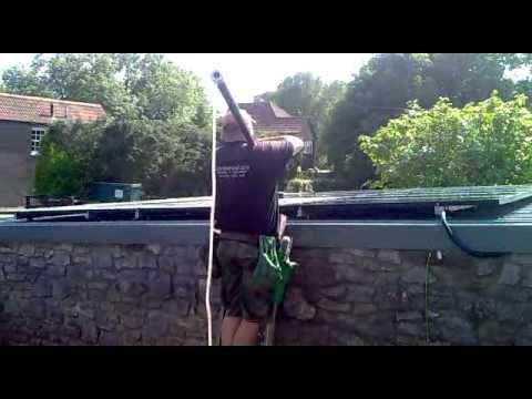 Solar Panel Cleaning. Bristol. 07759212482. clive.donovan@btinternet.com