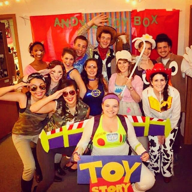 Pin for Later: 43 Disney Costumes You and Your Group Can DIY Toy Story