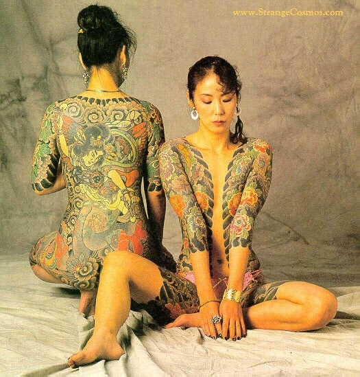 Tattoo Woman Photo: Classic Japanese Tattooing