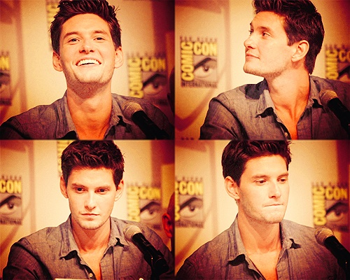 Ben Barnes. hes so cute.