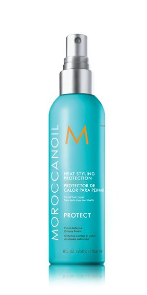 Moroccan Oil. Heat Styling Protection. #photograph #retouching #styling  http://www.acttwo-um.com/