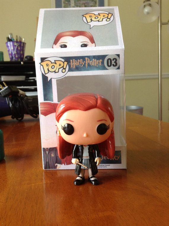 Ginny Weasley Pop Vinyl by 2MuchTime4This on Etsy