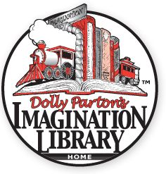 Imagination Library- FREE Book each month for Kids ages Birth – 5 Years old!