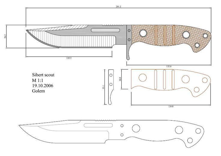 photo regarding Printable Folding Knife Templates known as Impression consequence for printable folding knife templates Knife