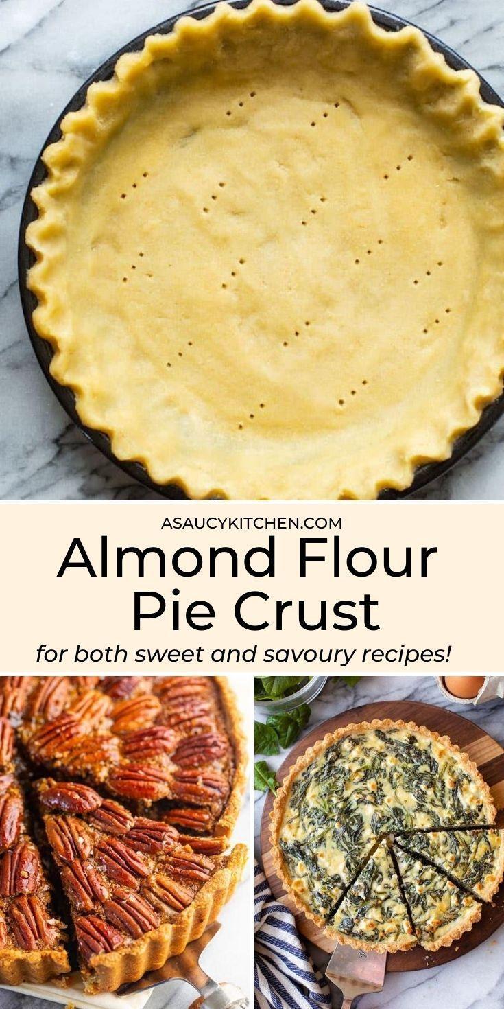 Almond Flour Pie Crust Paleo Vegan Option Recipe In 2020 Recipes Vegan Thanksgiving Recipes Almond Flour Pie Crust