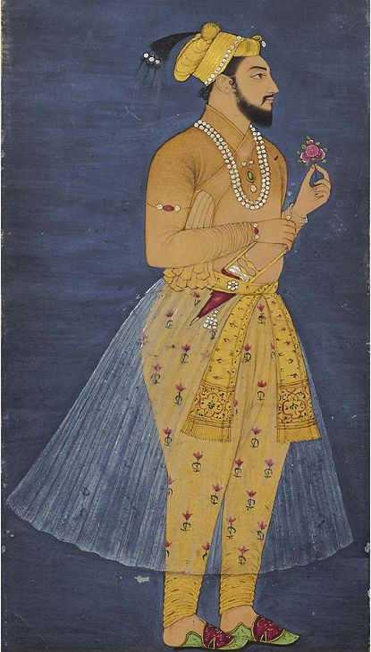 Looks alot like Dara Shikoh but perhaps is Shah Shuja