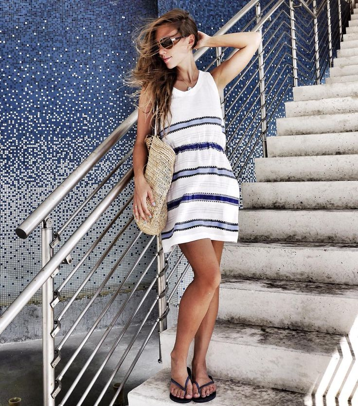 Модная мама  - как одеться во время и после беременности в жарком климате Майами. Летний стиль!