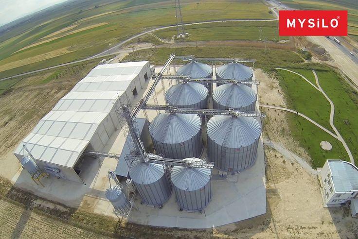 Mysilo yaptığını söyler, söylediğini yapar. www.mysilo.com #mysilo #silo #silos #tahıl #çelik #steel #depolama #tahıldepolama