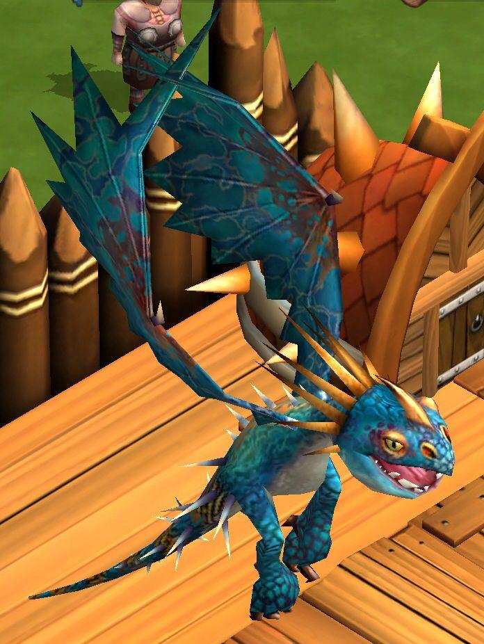 Stormfly - Dragons: Rise of Berk iOS game.