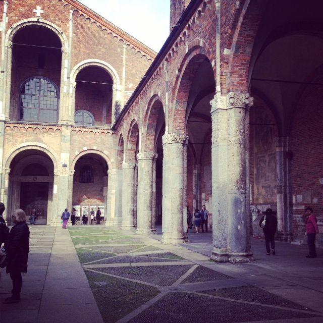 Milano - Sant'Ambrogio (mobile pics)