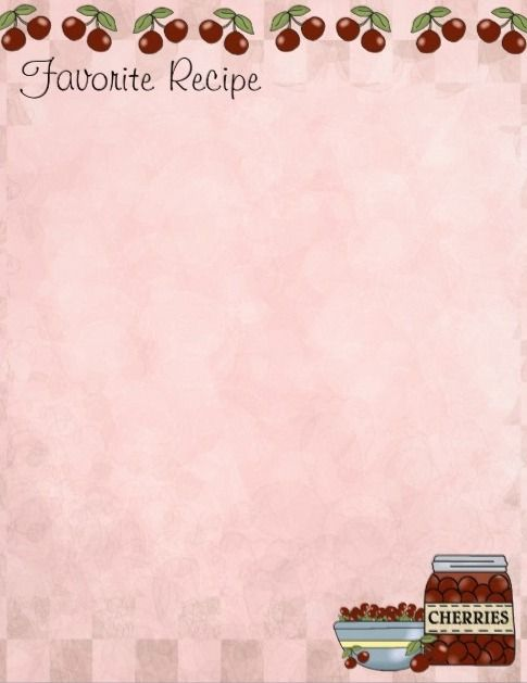 cookbook templates for mac - 17 best images about cookbook recipe templates on
