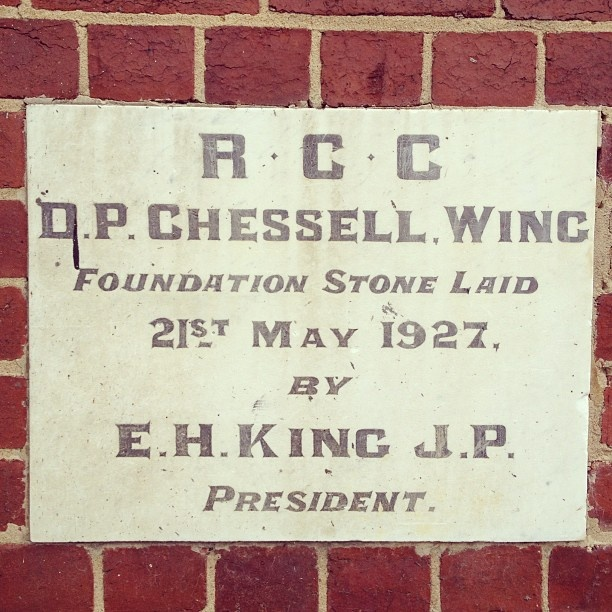 A piece of Richmond history.