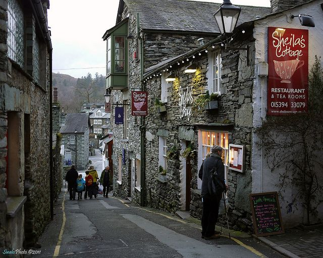 Sheila's Cottage, The Slack, Ambleside, Cumbria by SwaloPhoto, via Flickr