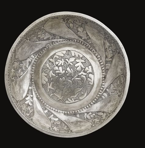 Hamam tası - OTTOMAN SILVER Hammam BOWL, 16TH CENTURY