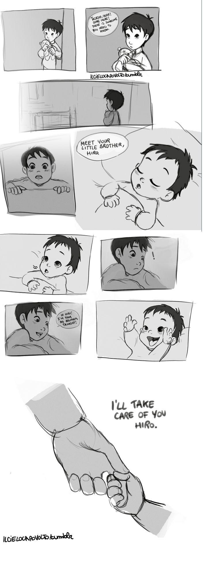 When I first saw Hiro.