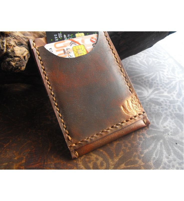 Handcrafted Leather Card Wallet