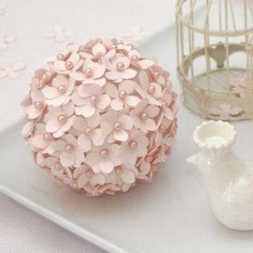 Boule de polystyrène fleuriePizzazzerie