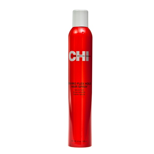 CHI Enviro Flex Hold Hair Spray Natural Hold by Farouk Cationic Hydration Interlink lets you spray, scrunch, mold, and hold to create multitudes of styles without added weight. CHI Enviro Flex Hold Hair Spray Natual Hold is a style hold memory, fast drying hair spray. Contains an innovative new technology that offers true versatility. It provides incredible shine. Contains less than 55% VOC to help protect the environment. Buy 3 for $13.04 each and save 11%: Hair Sprays, Best Hairspray, Spray Natual