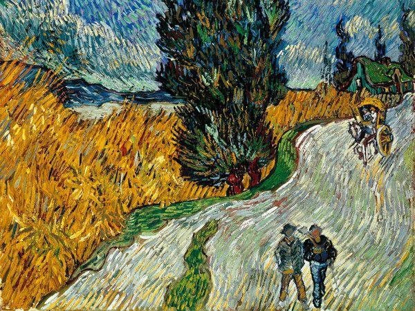 Sentiero di notte in Provenza, Vincent Van Gogh