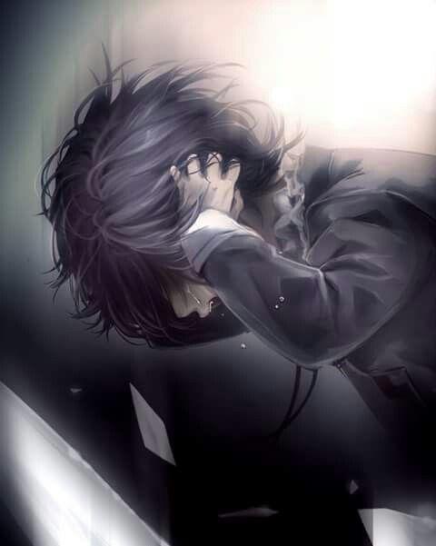 anime, boy, crying, sad, diabolik lovers, kanato sakamaki