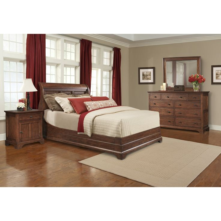 Top 25 Best Walnut Bedroom Furniture Ideas On Pinterest: 25+ Best Ideas About Cherry Sleigh Bed On Pinterest