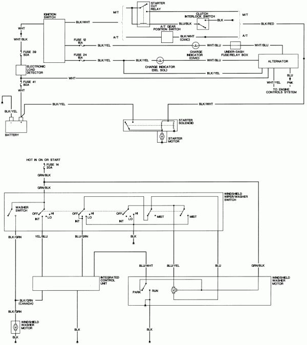 15+ 95 Honda Civic Engine Wiring Diagram - Engine Diagram - Wiringg.net in  2020 | Honda civic, Honda civic engine, CivicPinterest