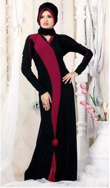 Black Lycra Islamic Hijab Abaya Styles Muslim Women Dresses | FH408465946 #trendy, #highquality, #islamic, #clothing, #women, #hijab, #fashion, #dresses, #jilbabs, #hijabs, #shawls, #islamic, #muslim, #burqa, #niqab, #wedding, #store, #boutique, #dubai, #pakistani, #mordern, #heenastyle, #readymade, #black, #color, @heenastyle