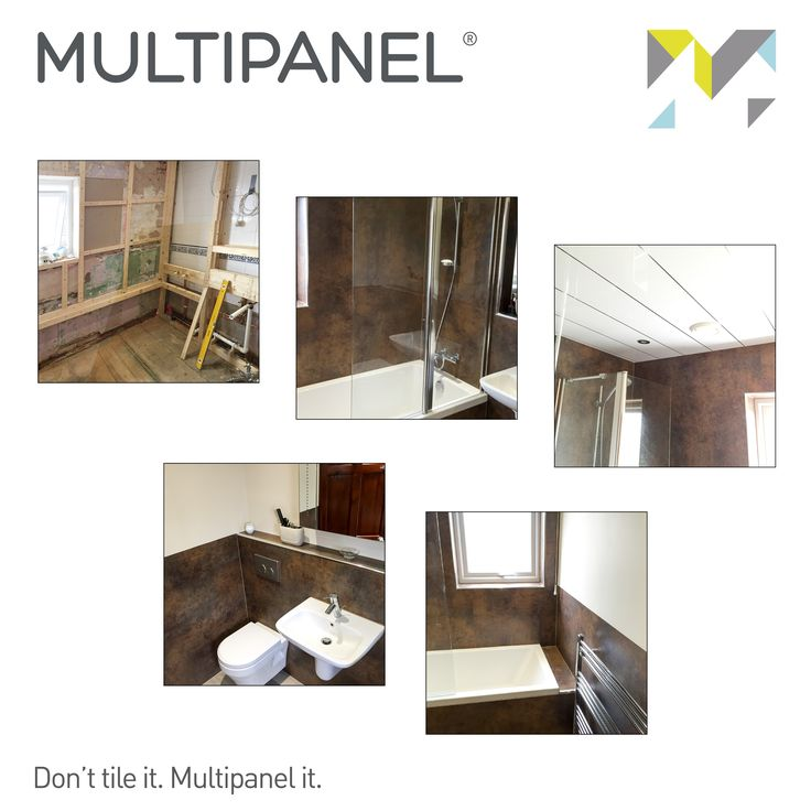 #TransformationTuesday Multipanel is leading the way for bathroom interiors. For more information on our beautiful products, visit: www.multipanel.co.uk