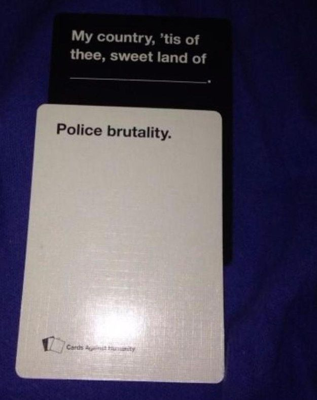 Yikes. | 20 Cards Against Humanity Games That Got WAY Too Real