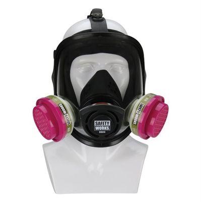 Safety Works Multi-Purpose Full Face Respirator