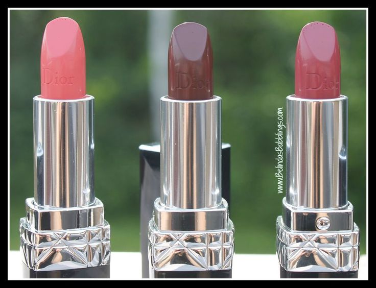 Container Details- Fall 2015 Dior Rouge Lipsticks