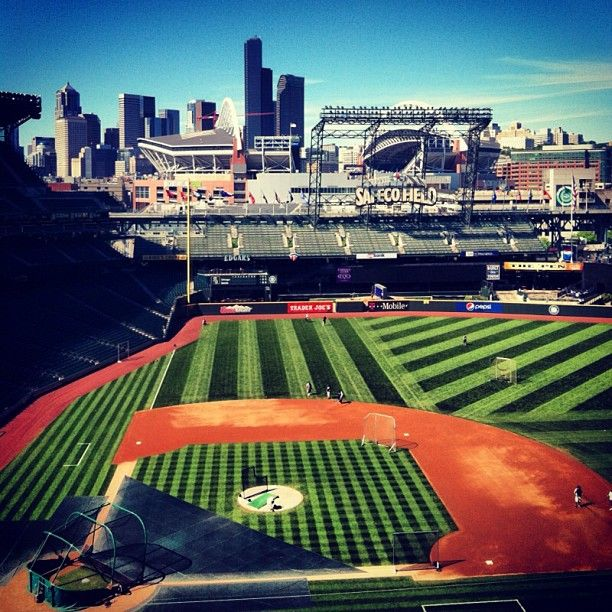 Another gorgeous day in Seattle. #Mariners #ILoveSafecoField