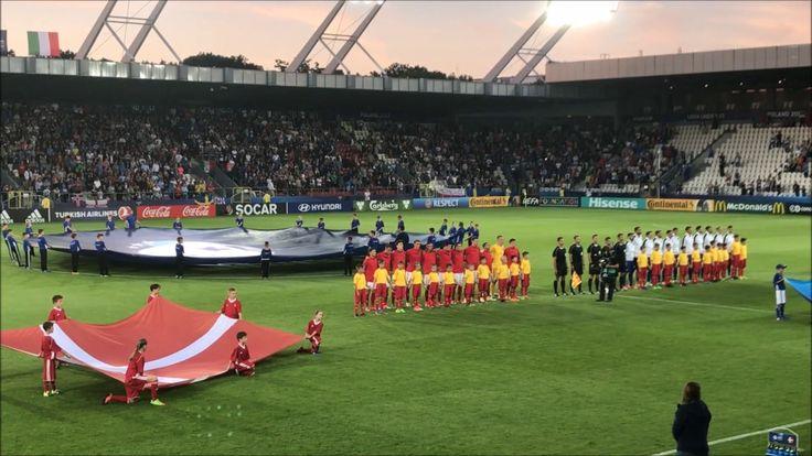U21: Denmark - Italy. 2017-06-18