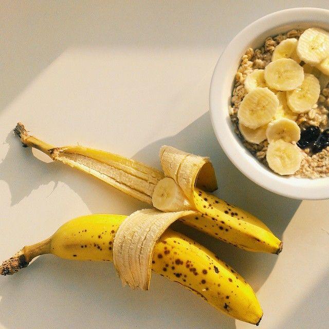 Tydzień leżały, aż dojrzały  #bananas #vegan #morning #breakfast #whatveganseat