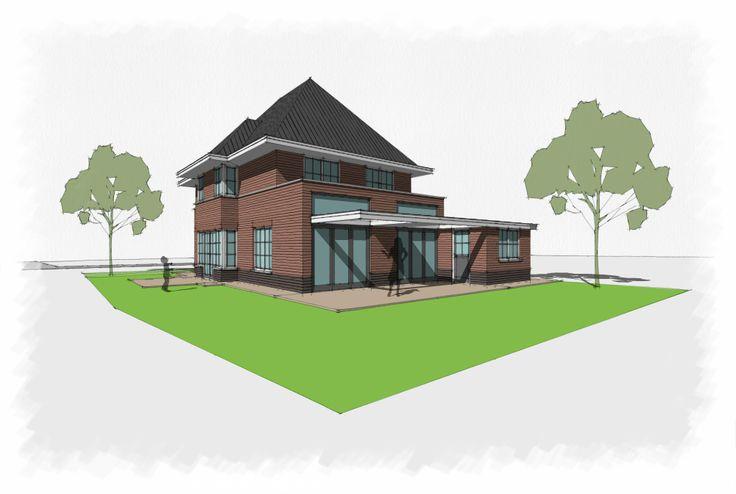 Jaren 30 woning ontwerp voor onze opdrachtgever jaren 30 woning - Ontwerp jaren ...