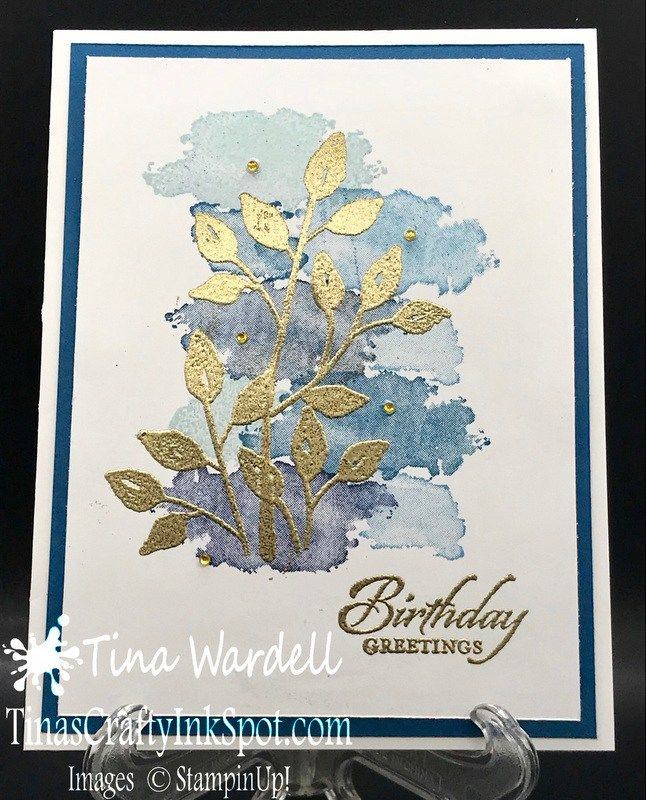 Petal Palette and Eclectic Expressions. This card works for general or even masculine. The Eclectic Expressions set adds that mixed media look easily!