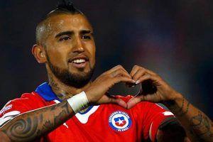 Vidal Penyelamat Chile Tundukkan Bolivia