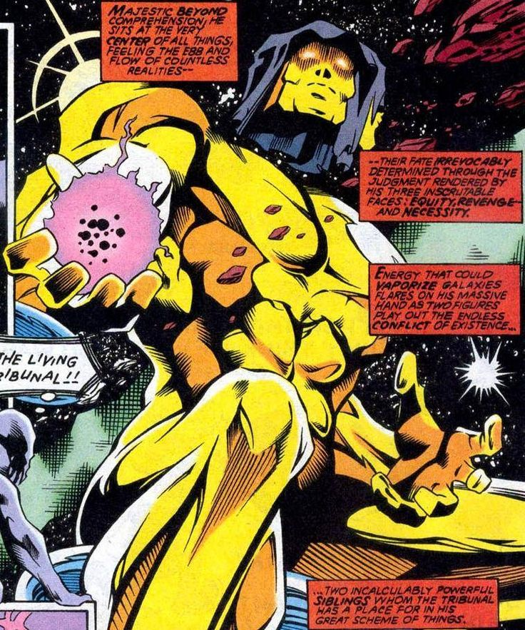 The 15 Most Powerful Characters In The Marvel Universe  LIVING TRIBUNAL