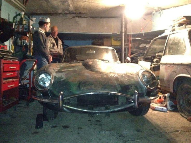 1966 E Type Jaguar Barn Find