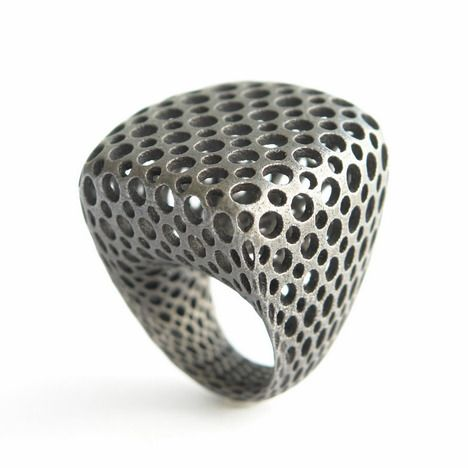 3D printed ring #3dPrintedJewelry