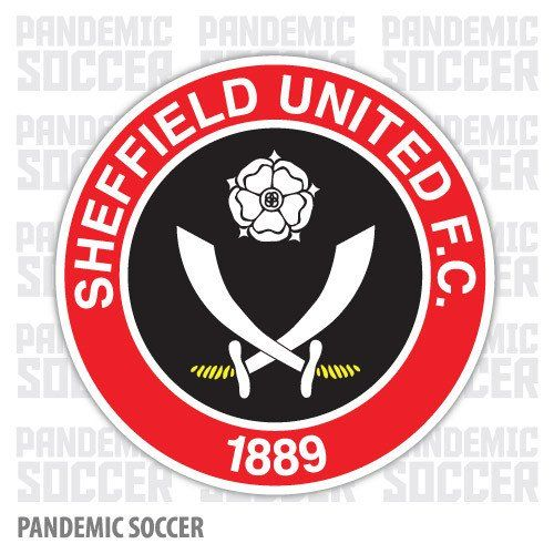 Sheffield United FC England Color Vinyl Sticker Decal