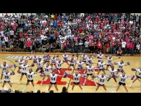 Cheerleader Dance Pep Rally And Youtube On Pinterest