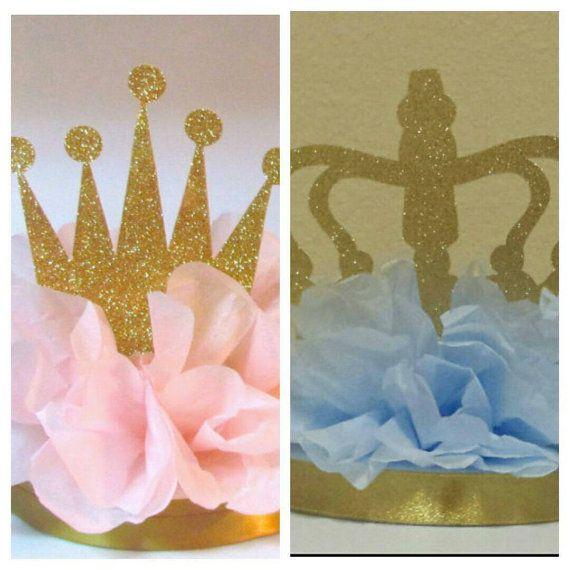 Set of 2 Princess or Little Prince Gender by KhloesKustomKreation