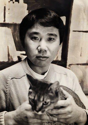Haruki Murakami. E aqui, anos mais tarde : http://www.pinterest.com/pin/214061788509679026/