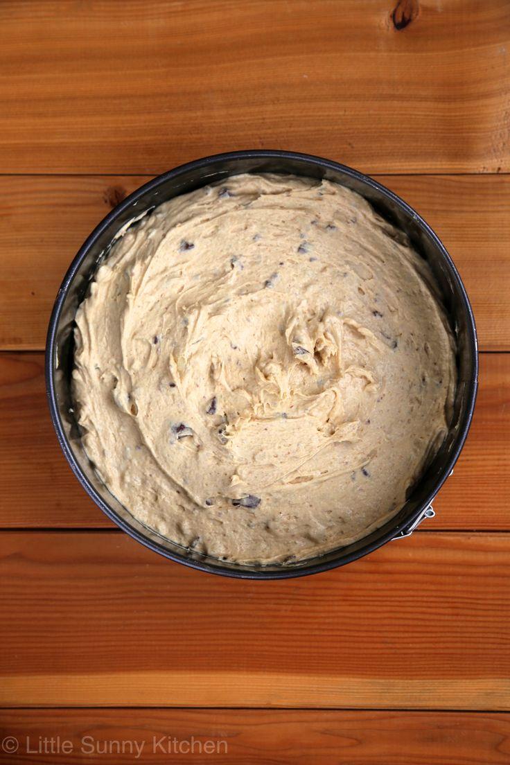 Fluffernutter cake batter