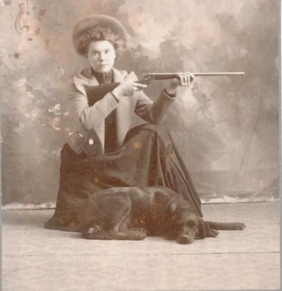 Image result for old lady hunting images