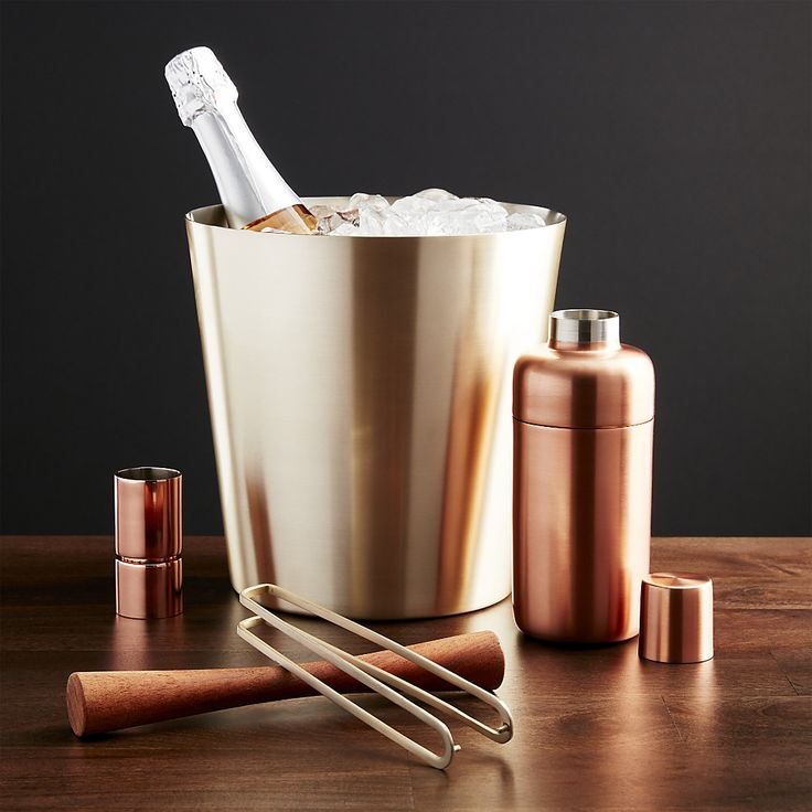 Orb Wine-Champagne Bucket|Crate and Barrel