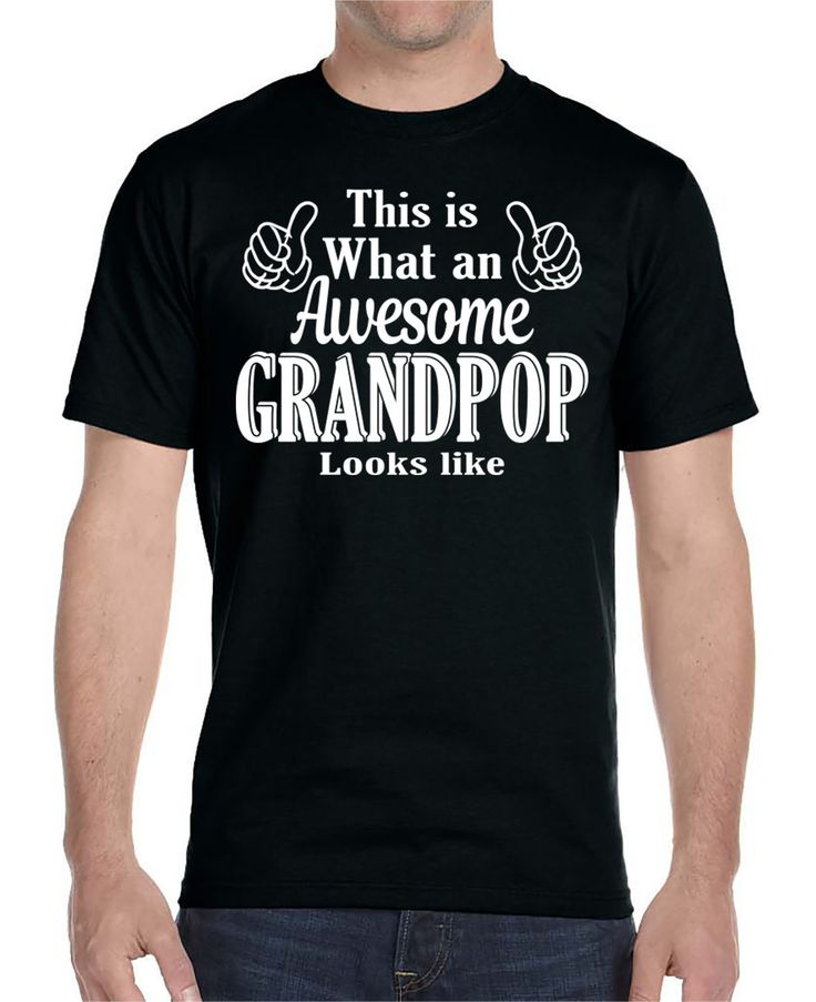 This Is What An Awesome Grandpop Looks Like - Unisex T-Shirt Grandpop Shirt…